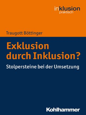 cover image of Exklusion durch Inklusion?