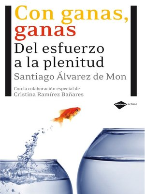 cover image of Con ganas, ganas