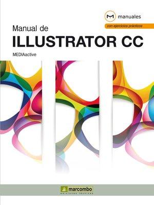 cover image of Manual de Illustrator CC