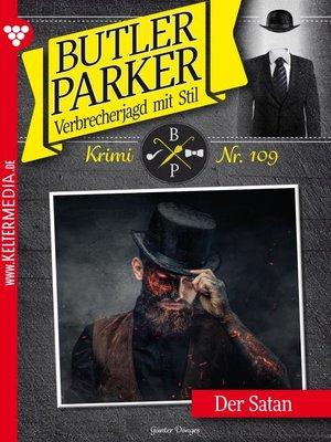 cover image of Butler Parker 109 – Kriminalroman