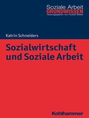 cover image of Sozialwirtschaft und Soziale Arbeit