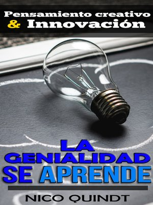 cover image of La genialidad se aprende