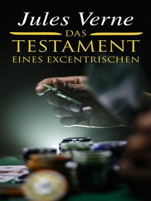 cover image of Das Testament eines Excentrischen