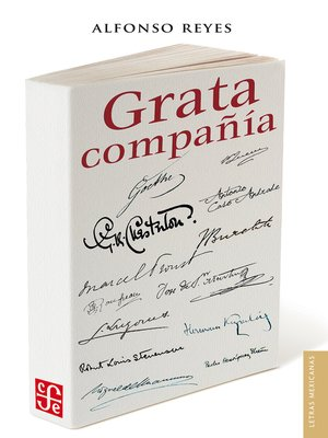 cover image of Grata compañía