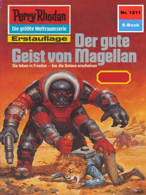 cover image of Perry Rhodan 1211