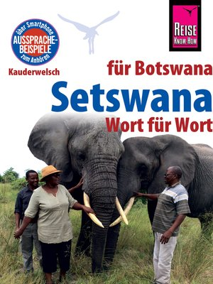 cover image of Reise Know-How Sprachführer Setswana--Wort für Wort (für Botswana)