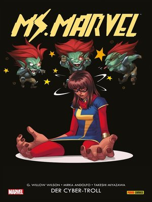 cover image of Ms. Marvel (2016) 3--Der Cyber-Troll