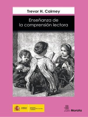 cover image of Enseñanza de la comprensión lectora