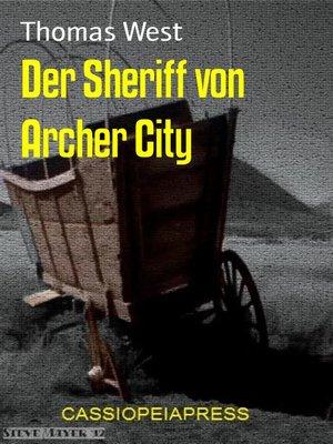 cover image of Der Sheriff von Archer City