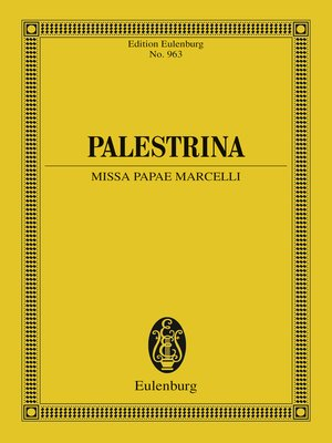 cover image of Missa Papae Marcelli