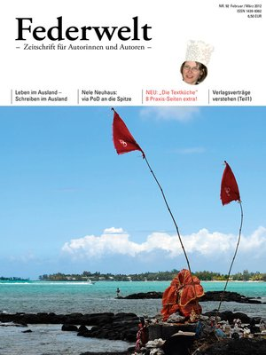 cover image of Federwelt 92, 01-2012