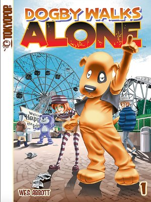 cover image of Dogby Walks Alone manga volume 1