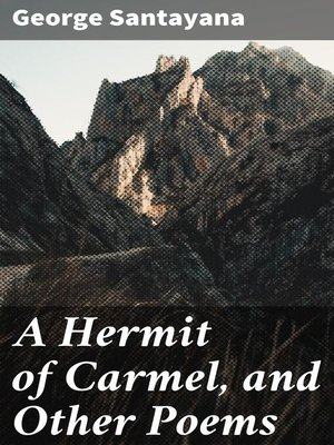 cover image of A Hermit of Carmel, and Other Poems