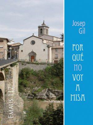 cover image of Por qué no voy a misa