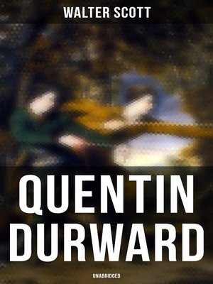 cover image of Quentin Durward (Unabridged)