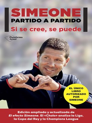 cover image of Simeone. Partido a partido