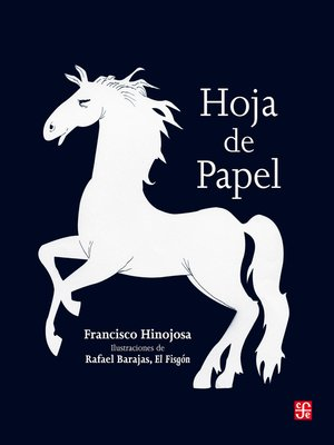 cover image of Hoja de papel