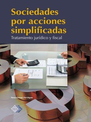 cover image of Sociedades por acciones simplificadas