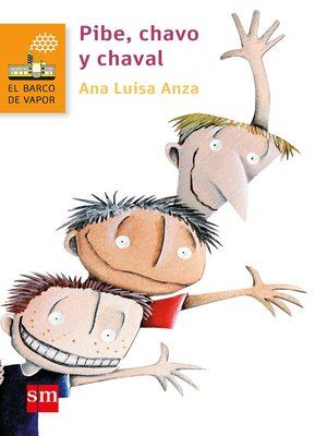 cover image of Pibe, chavo y chaval
