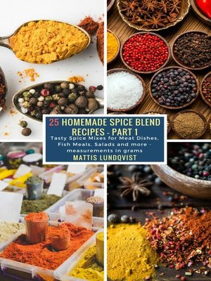cover image of 25 Homemade Spice Blend Recipes--Part 1