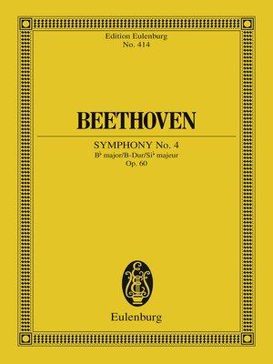 cover image of Symphony No. 4 Bb major