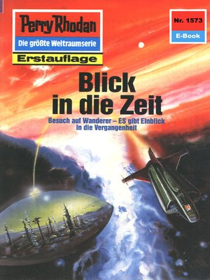 cover image of Perry Rhodan 1573