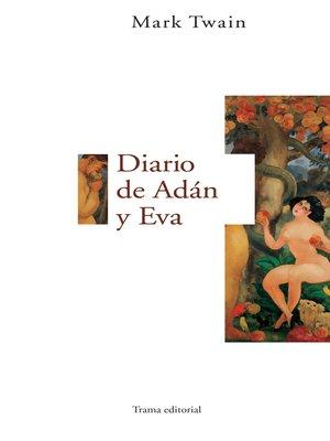 cover image of Diario de Adán y Eva