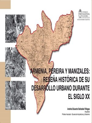 cover image of Armenia, Pereira y Manizales