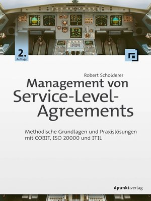 cover image of Management von Service-Level-Agreements