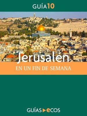 cover image of Jerusalén. En un fin de semana