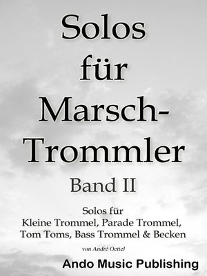 cover image of Solos für Marschtrommler -Band 2