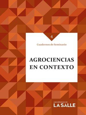 cover image of Agrociencias en contexto