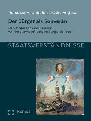 cover image of Der Bürger als Souverän