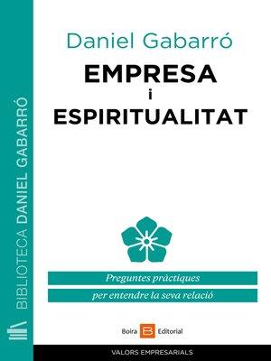 cover image of Empresa i espiritualitat