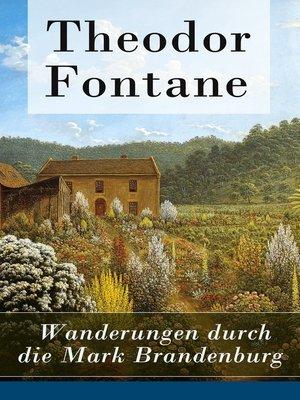 cover image of Wanderungen durch die Mark Brandenburg