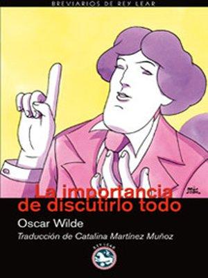 cover image of La importancia de discutirlo todo