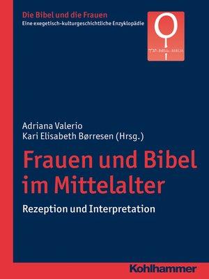 cover image of Frauen und Bibel im Mittelalter