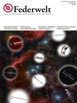 cover image of Federwelt 108, 05-2014