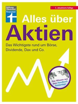 cover image of Alles über Aktien