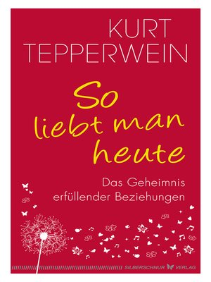 cover image of So liebt man heute