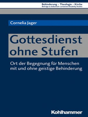 cover image of Gottesdienst ohne Stufen