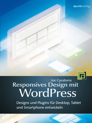 cover image of Responsives Design mit WordPress