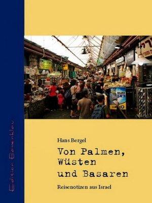 cover image of Von Palmen, Wüsten und Basaren