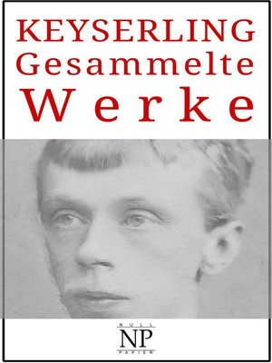 cover image of Eduard von Keyserling – Gesammelte Werke