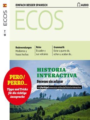 cover image of Spanisch lernen Audio--Historia interactiva