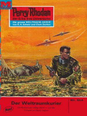 cover image of Perry Rhodan 514