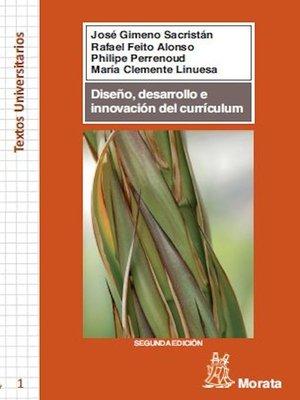 cover image of Diseño, desarrollo e innovación del currículum