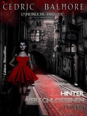 cover image of Hinter verschlossenen Türen