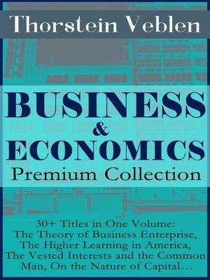 cover image of BUSINESS & ECONOMICS Premium Collection