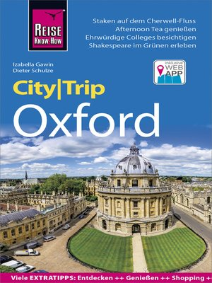 cover image of Reise Know-How CityTrip Oxford